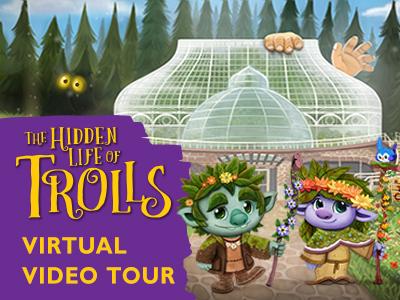 Summer Flower Show: The Hidden Life of Trolls Virtual Video Tour