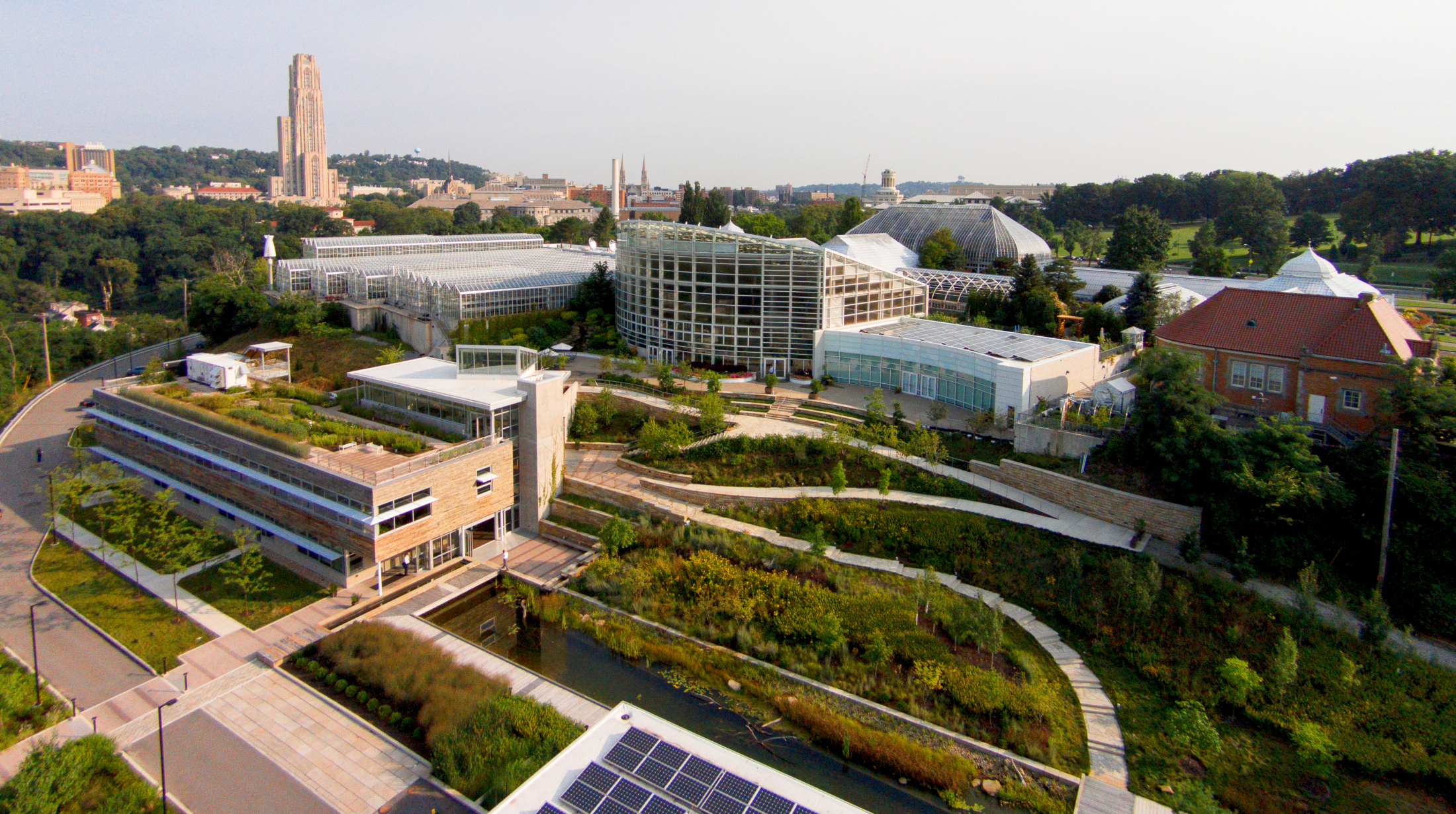 Center for sustainable landscapes one of the greenest for Sustainable landscape design