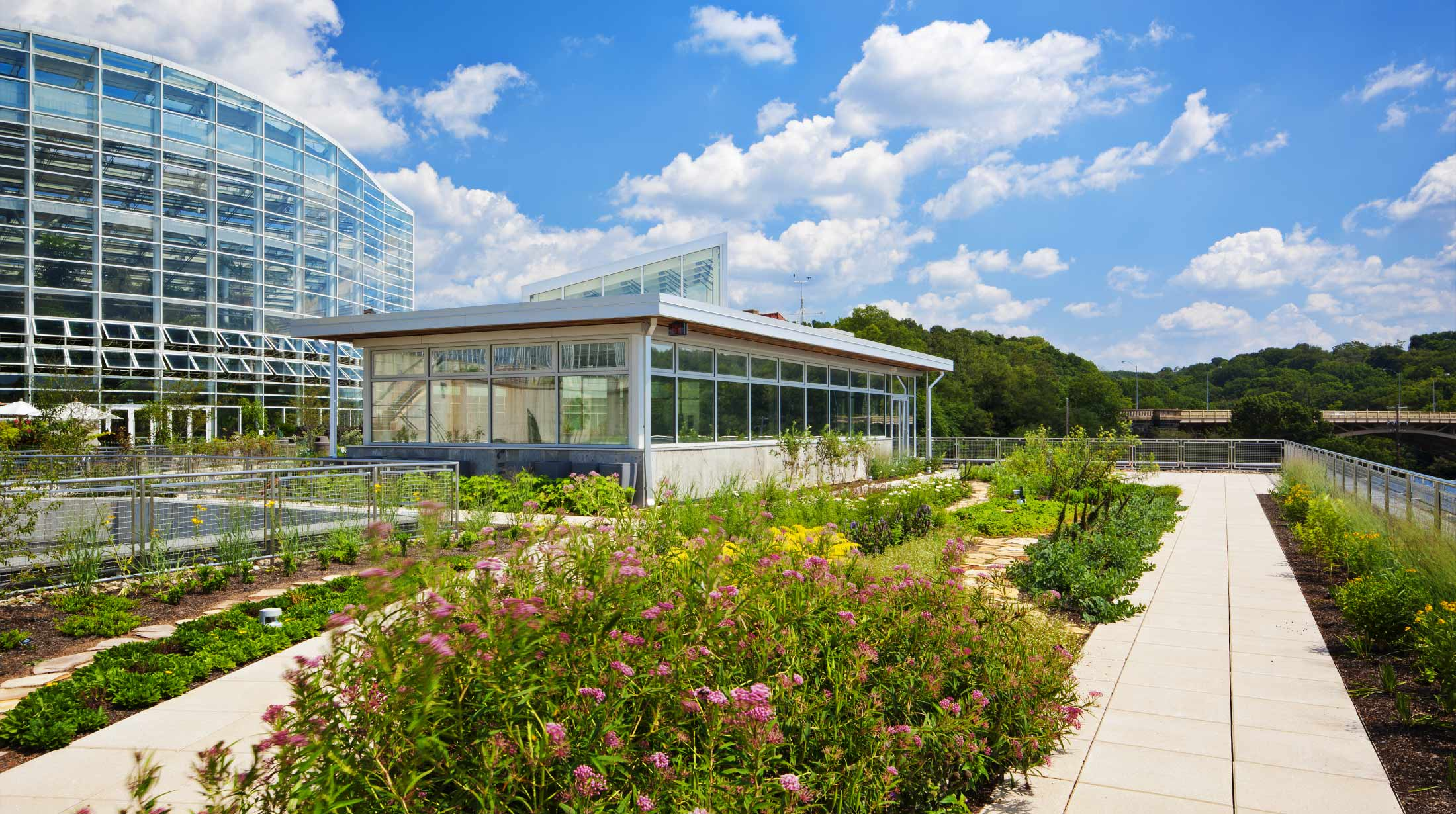 Landscaped Gardens Facility: Center For Sustainable Landscapes: One Of The Greenest
