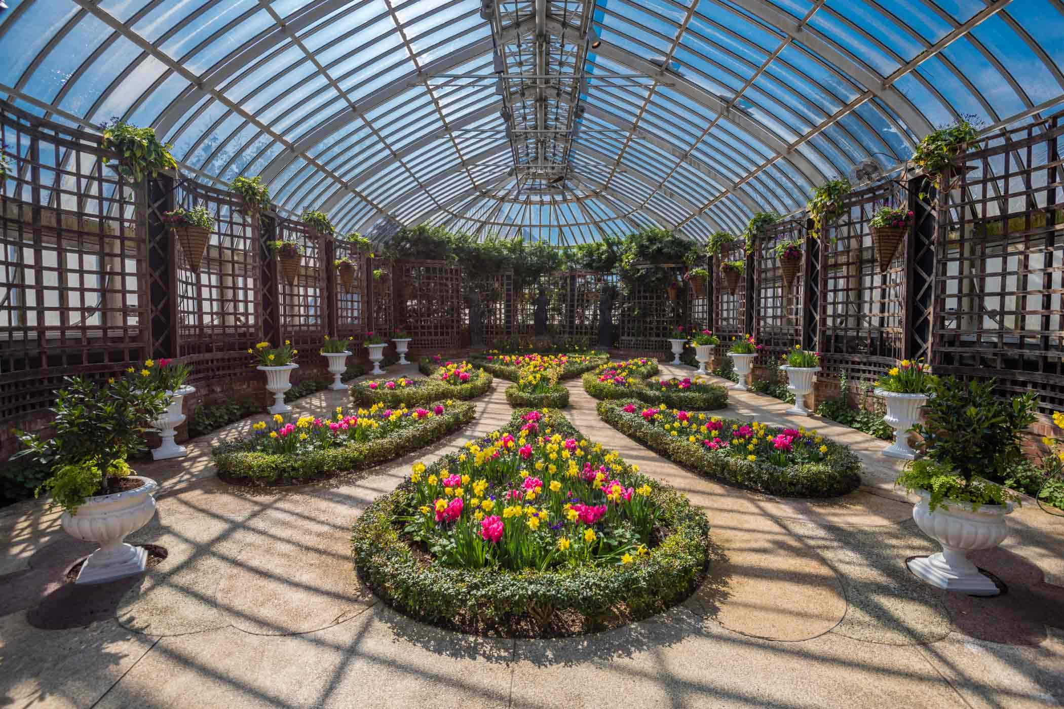 Spring Flower Show Gardens Of The Rainbow Phipps Conservatory And