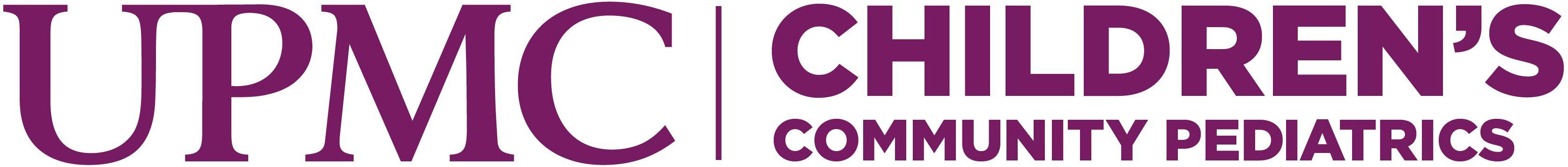 UPMC Children's Community Pediatrics Logo