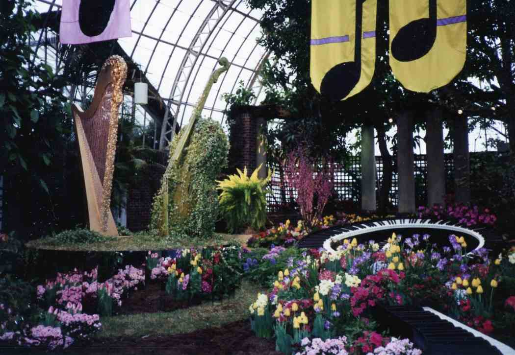 Spring Flower Show 1990: Spring Symphony — An Orchestration of Color
