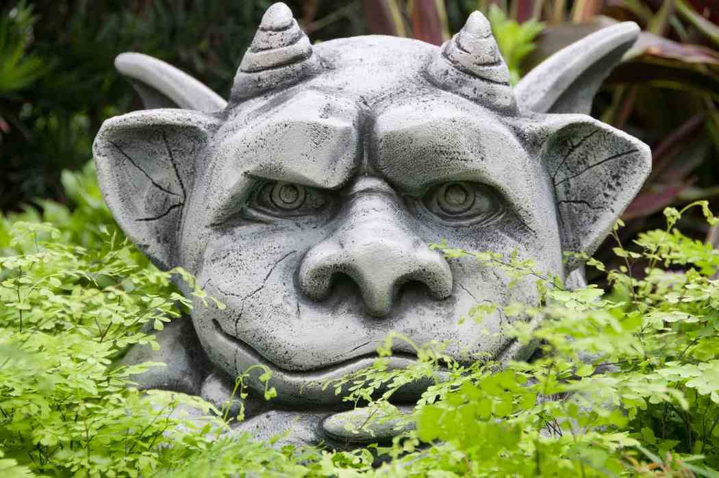 Summer Flower Show 2010: Gargoyles in the Garden