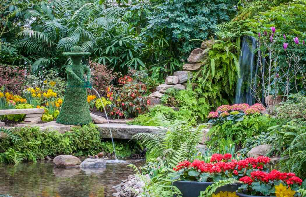 Spring Flower Show 2013: The Secret Garden