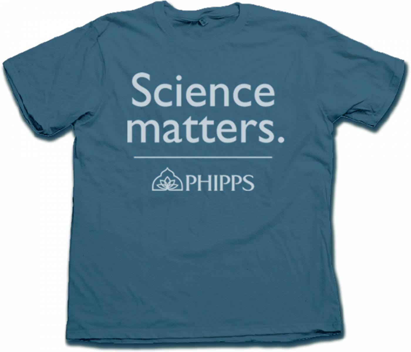 Science Matters T-Shirt (Blue)