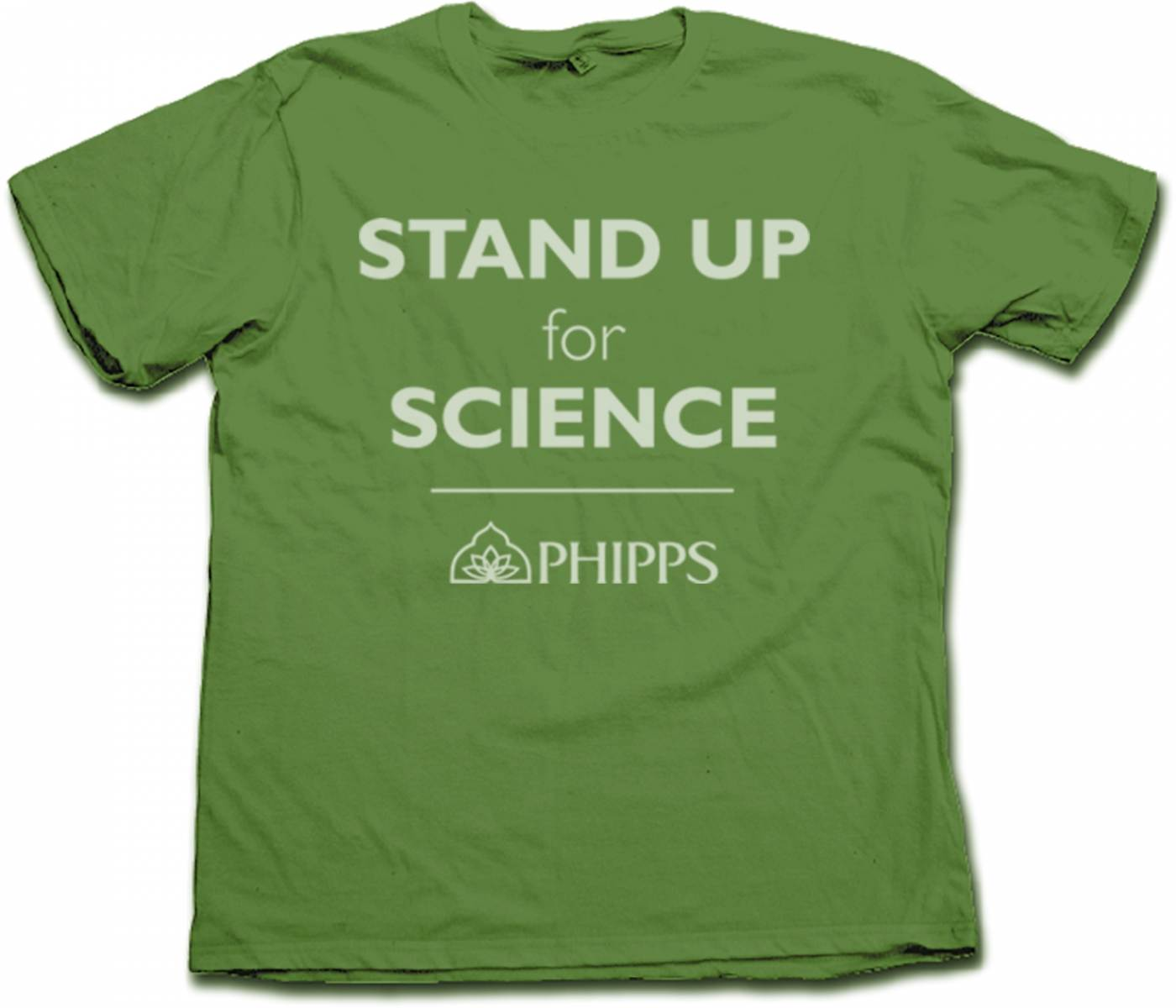 Stand Up for Science T-Shirt (Green)