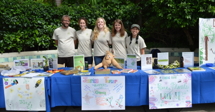 Botany in Action at the Tropical Forest Congo Festival!