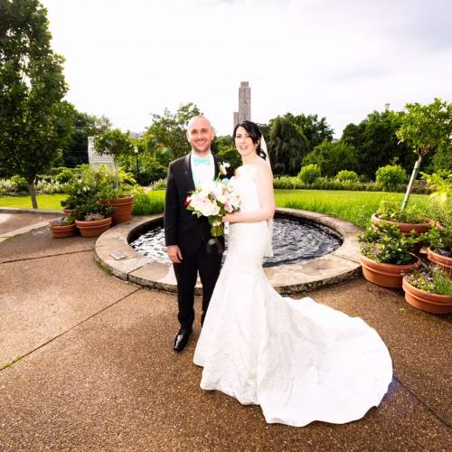 Weddings Under Glass: Beckie and Mattia