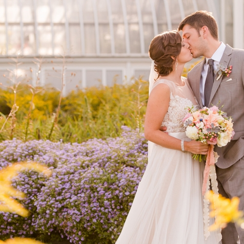 Weddings Under Glass: Kate and Ryan