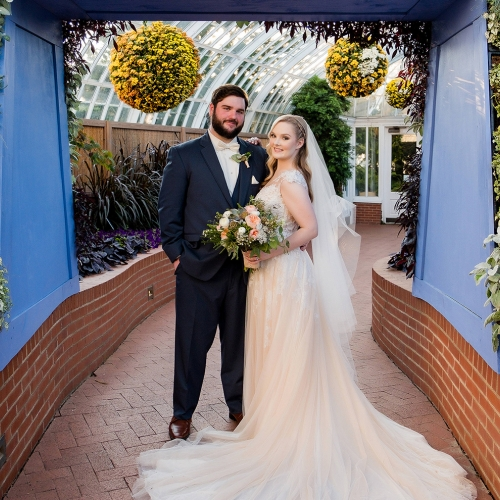 Weddings Under Glass: Kelsey and Max