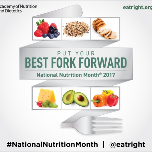 Ask Ginger: National Nutrition Month®