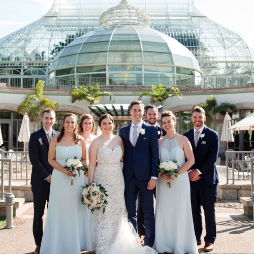 Weddings Under Glass: Rebecca and Eric