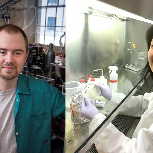 Meet a Scientist: Eileen Wong and Michael Polen