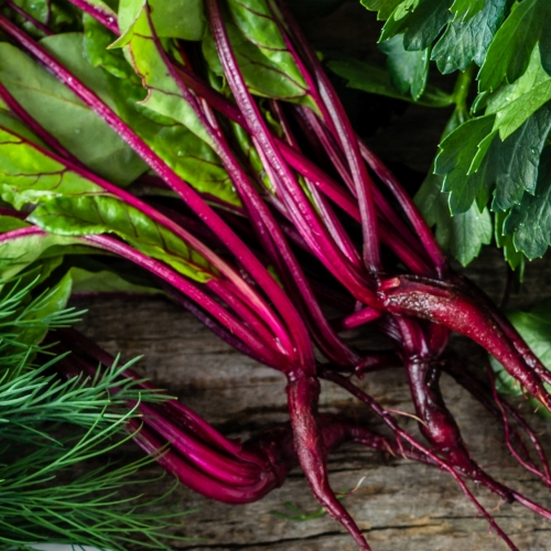 What We're Cooking With Now: Beet Greens