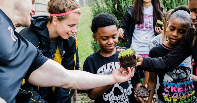 Health in Motion: Youth Planting Challenge