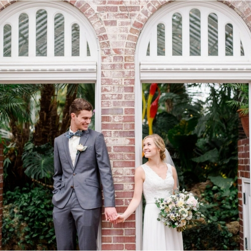 Weddings Under Glass: Salina and Quentin
