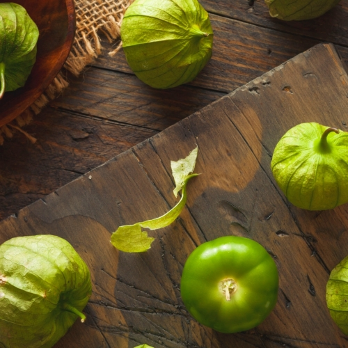 What We're Cooking With Now: Tomatillos