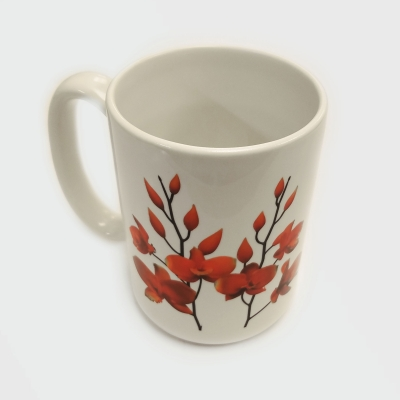 "SUPER. NATURAL. ""Orchid"" Ceramic Mug"