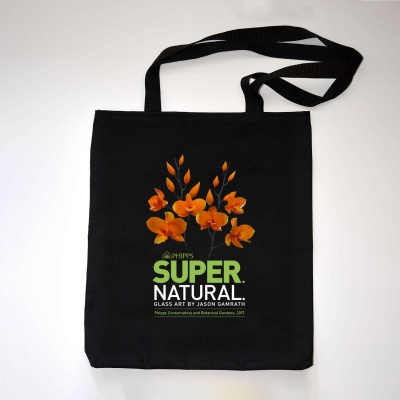 "SUPER. NATURAL. ""Orchid"" Tote Bag"