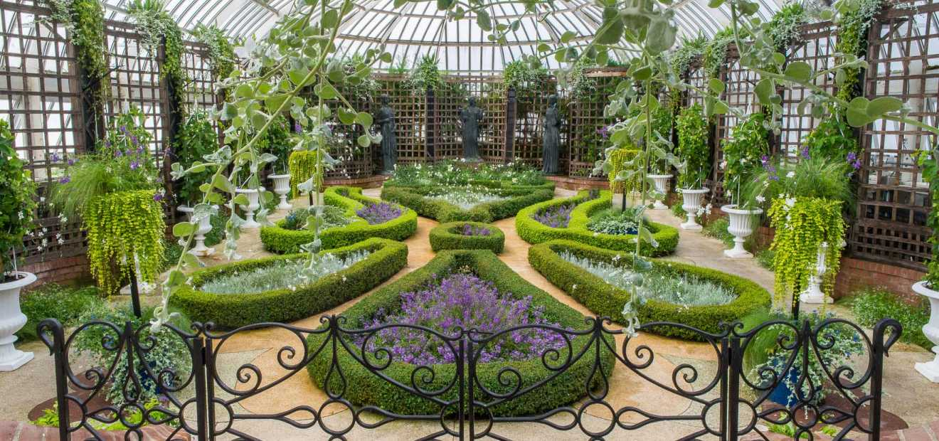 Charmant Broderie Room | Phipps Conservatory And Botanical Gardens | Pittsburgh PA