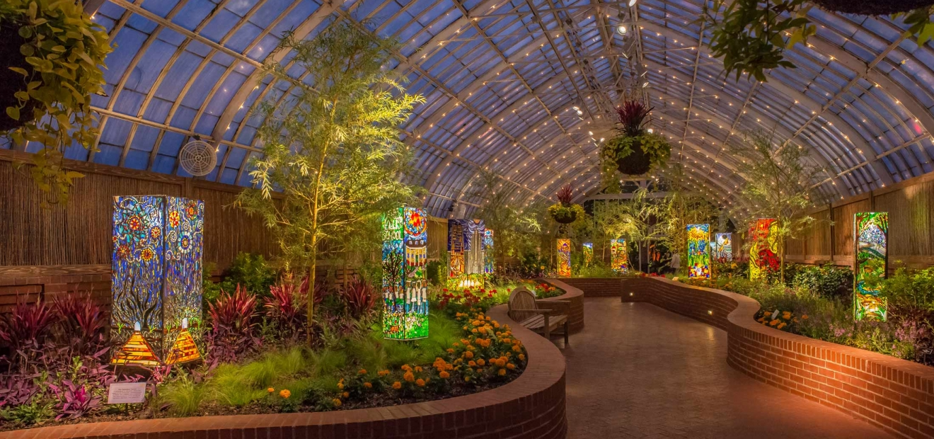 Serpentine Room Phipps Conservatory And Botanical Gardens Pittsburgh Pa
