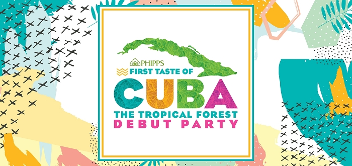 First Taste of Cuba: The Tropical Forest Debut Party