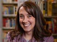 Erin Zambataro is the early learning lead librarian at Carnegie Library of Pittsburgh, a large urban library with 19 locations.