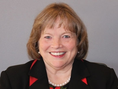 Dr. Roberta Schomburg, a professor emerita at Carlow University, is pictured.