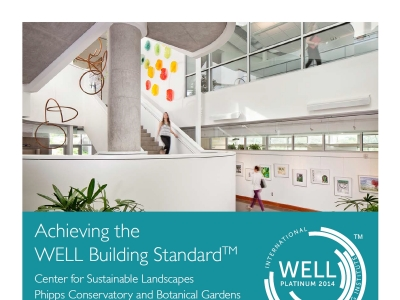Green Building Toolkit: Achieving the WELL Building Standard