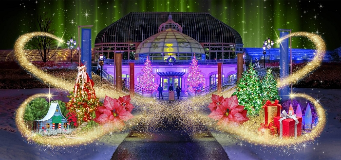 Winter Flower Show and Light Garden: Holiday Magic!