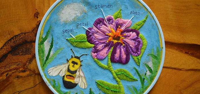 Petals and Pollinators: A Youth Art Exhibition
